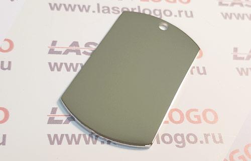 Классический армейский жетон зеркальный, для фото